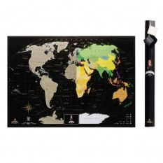Скретч карта мира BLACK EDITION