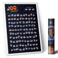 Скретч постер 100 BucketList KAMASUTRA edition