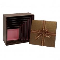 Коробка подарочная КП-1.2 (набор 7шт)