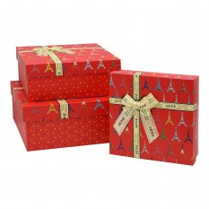 Коробка подарочная КП-2.2 (набор 3шт)