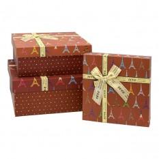 Коробка подарочная КП-2.4 (набор 3шт)