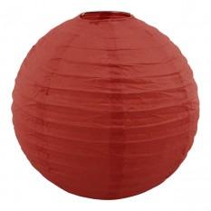 Декор подвесной Шар (25см) красный