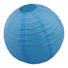 Декор подвесной Шар (25см) голубой