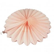 Веерный круг (тишью) 40см (персиковый 0012)