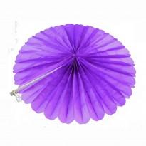 Веерный круг (тишью) 30см (фиолетовый 0021)