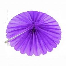 Веерный круг (тишью) 40см (фиолетовый 0021)