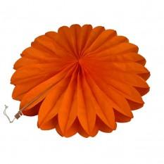Веерный круг (тишью) 40см (оранжевый 0011)