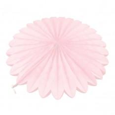Веерный круг (тишью) 40см (розовый 0020)
