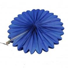 Веерный круг (тишью) 20см (синий 0002)