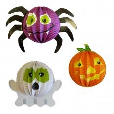 Декор 3D Хэллоуин 12см (уп. 3шт)