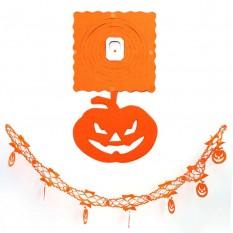 Гирлянда 3D Хэллоуин с подвеской Тыква