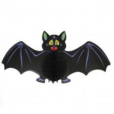 Декор подвесной Летучая мышь черная