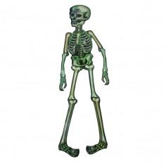 Декор настенный (85см) Скелет зеленый