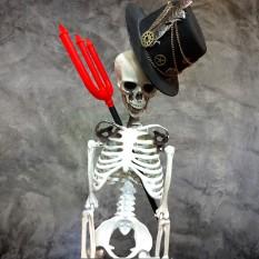Декор Скелет H100см (сборный)