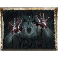 Интерьерная наклейка Злой дух SK6043 45х60см