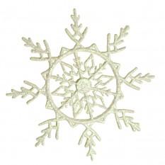 Украшение Снежинка Ажурная 17х17см 9304