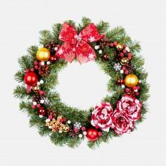Рождественский венок КРАСКИ РОЖДЕСТВА 9234
