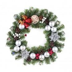 Рождественский венок НОВОГОДНЕЕ ЧУДО 9235