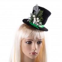 Шляпка новогодняя Ноэль 9218