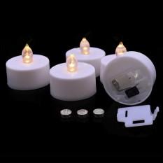 Свеча LED светящаяся 3,5х4,5см белая