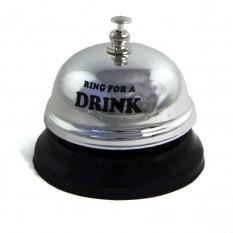 Звонок настольный DRINK (серебро)