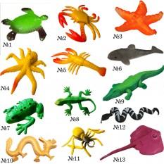 Растущие в воде игрушки 10х6см гиганты Океан №1 цветные (1шт)