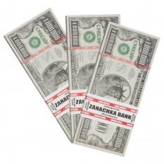 Пачка денег по 1'000'000 долларов