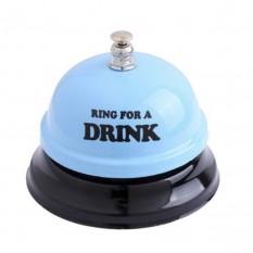 Звонок настольный DRINK (голубой)