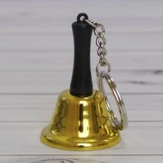 Колокольчик золотой брелок
