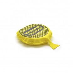 Подушка пердушка средняя 16см желтая