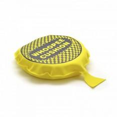 Подушка пердушка большая 20см желтая